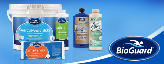 Early Buy Special. 15% Off BioGuard Pool & Spa Chemicals Now Thru April 30. Plus 15% Off Price Lock-in For 2018