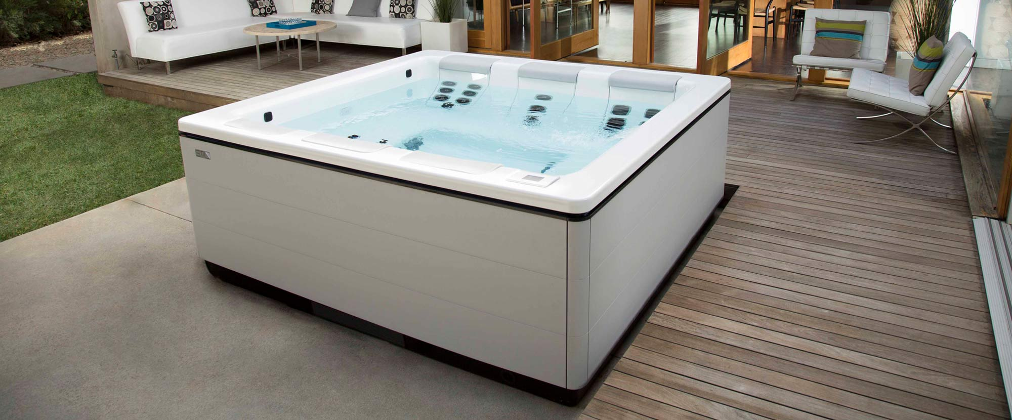 Warm Up Your Outdoor Leisure Space This Winter With A Bullfrog Spa From Leisure Zone<br/>With Our Winter Clearance Sale